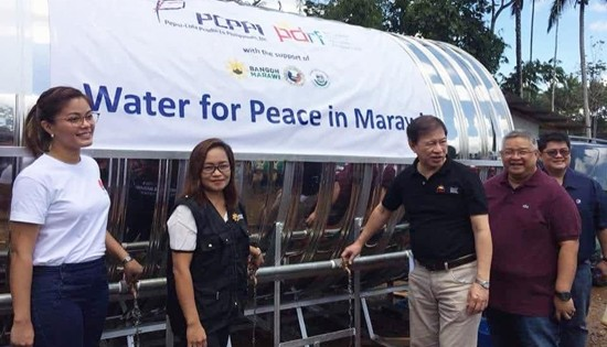 Water for Peace in Marawi