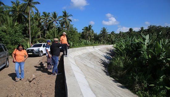 P150-M flood control structures in Calbayog