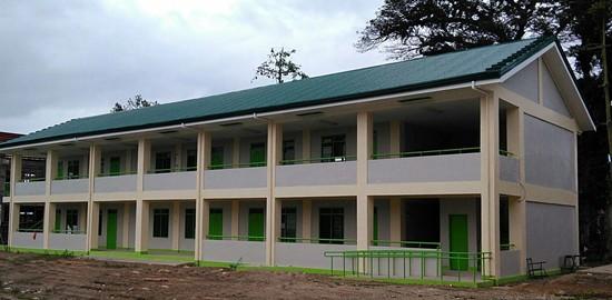 Barugo NHS school building