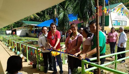 school buildings turn over in Biliran