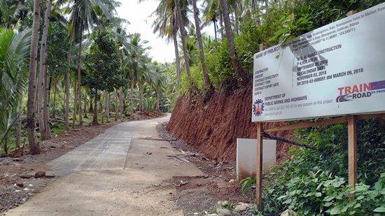 Caibiran Farm-market road (FMR) project