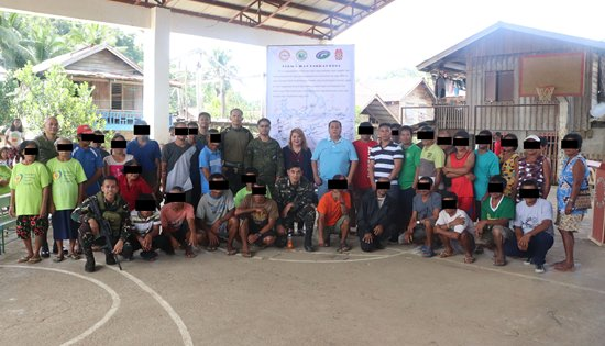 Mass surrender of NPAs in Eastern Samar
