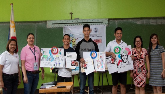 Data Cartooning Contest in Eastern Visayas