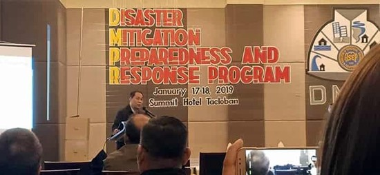 DPWH disaster mitigation, preparedness and response program
