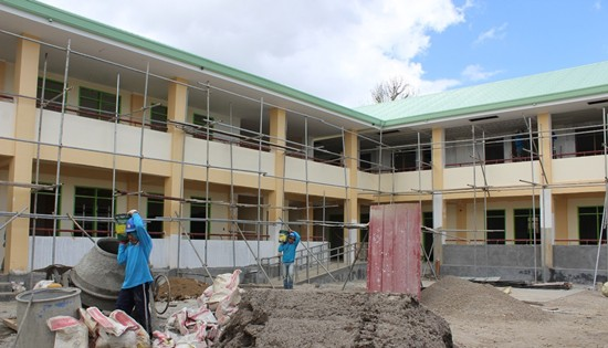 18 new classrooms in Jaro, Leyte
