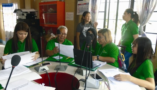 Nutrition evaluators training on MELLPI Pro