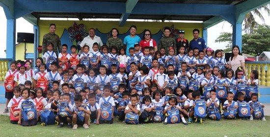 GMA Kapuso Foundation, Inc gift-giving