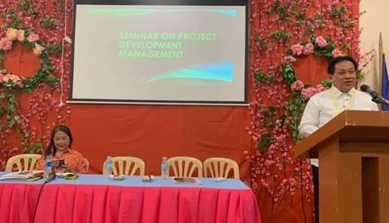 David P. Adongay Jr. of Biliran District Engineering Office