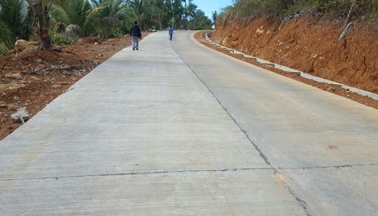 road to Bagongbong Falls