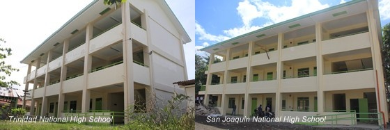 Trinidad National High School and San Joaquin National High School