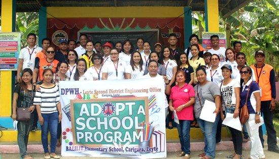 DPWH adopts a school in Carigara