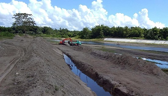 Leyte flood mitigation structure projects
