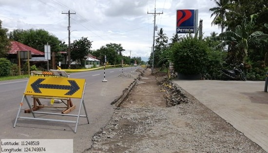 2019 infra projects in Leyte