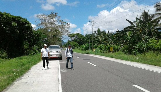 DPWH walk-the-line inspection