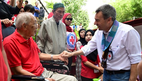 ICRC President Peter Maurer visit to the Philippines