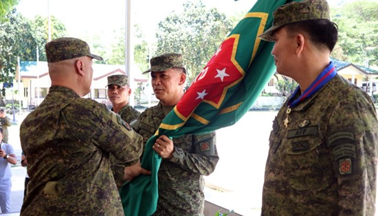 MGen. Diñoso assumes as 21st 8ID Commander