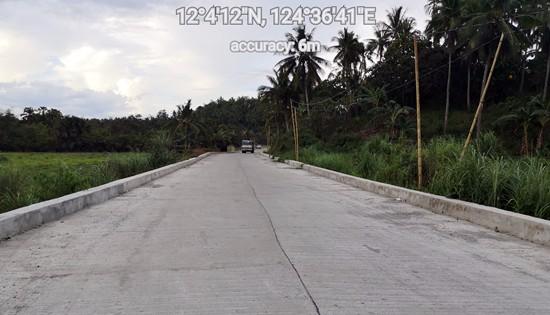 Calbayog diversion road