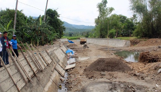 carigara river wall project