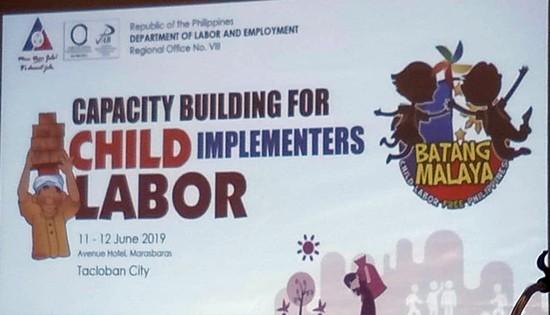 child labor program implementers