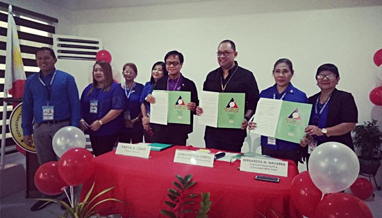DOLE-8, Leyte province contract signing