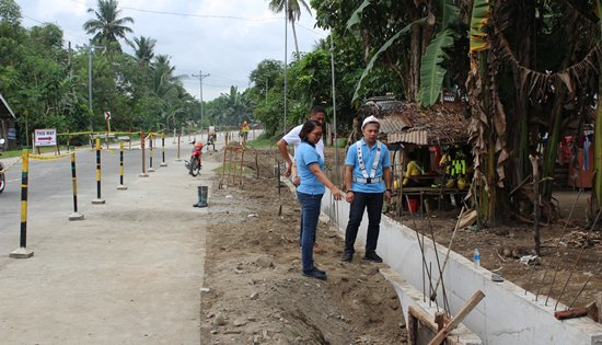 leyte secondary roads