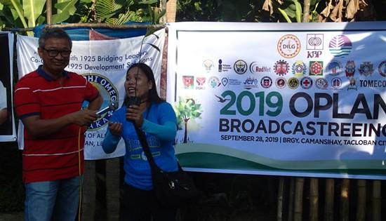 Eastern Visayas Oplan Broadcastreeing 2019