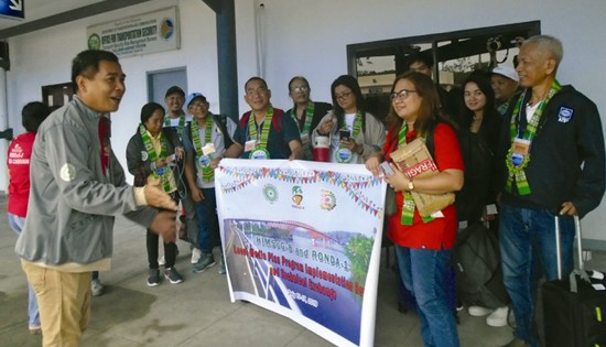 RONDA 1 visit to Eastern Visayas