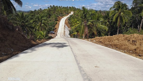 Roxas-Imelda road, Sta. Margarita, Samar