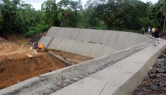 Sinidman flood control project