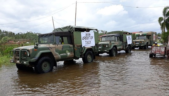 Army Disaster Rescue and Relief Operations