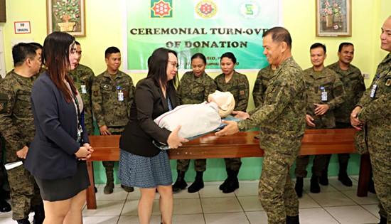 AFPSLAI CPR training mannequin