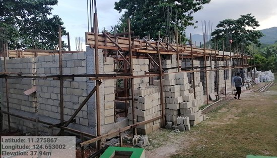 construction of one-unit one-storey two-classroom school building