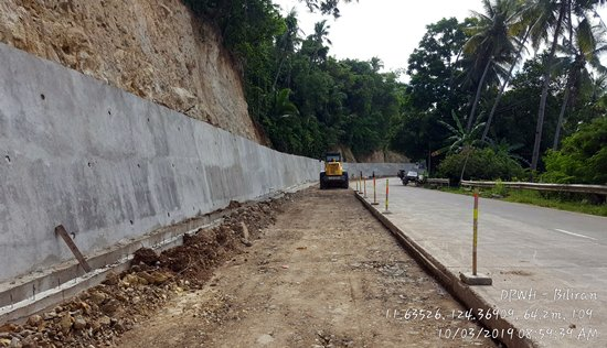 DPWH-Biliran 2019 infra projects