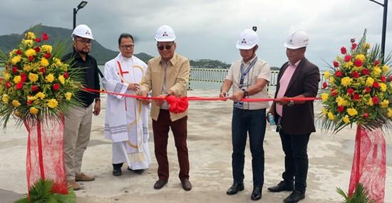 NMP wharf extension inauguration