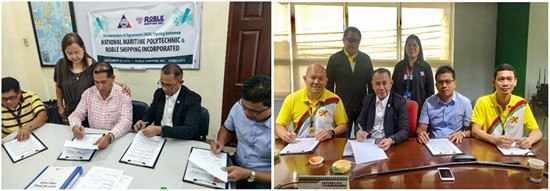 NMP MOA signing with RSI and Gothong Shipping Lines Inc.