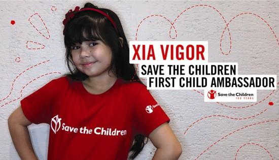 Child actress Xia Vigor
