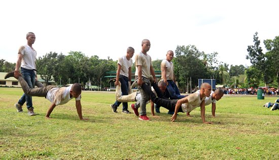 candidate soldiers training