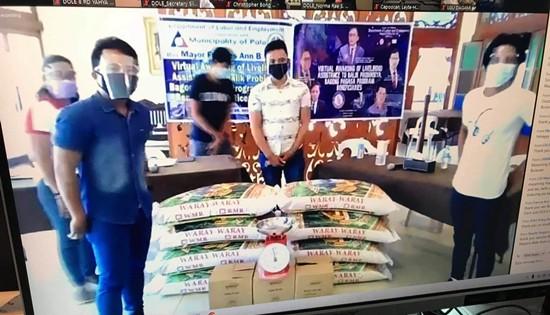 Balik Probinsya Bagong Pag-asa beneficiaries
