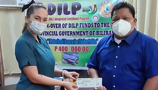 P400-K livelihood for Biliran fisherfolks