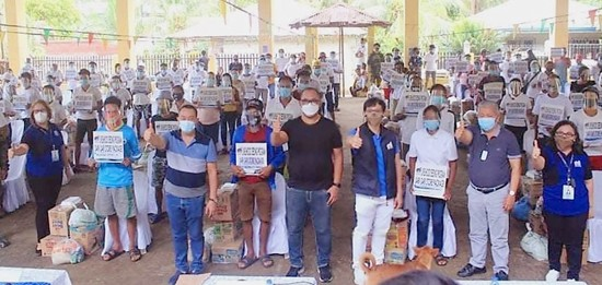 livelihood kits to former rebels