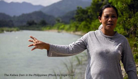 The Kaliwa Dam in the Philippines