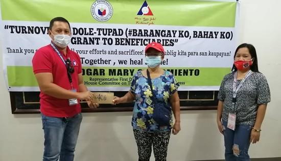 TUPAD #BKBK beneficiaries in Samar