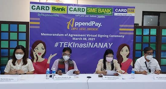 AppendPay - CARD Banking Group MOA
