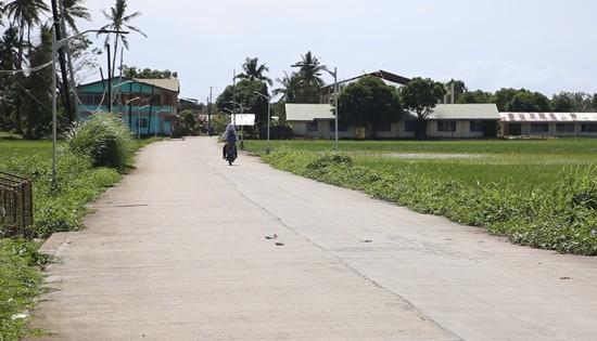 Barangay Basud circumferential road