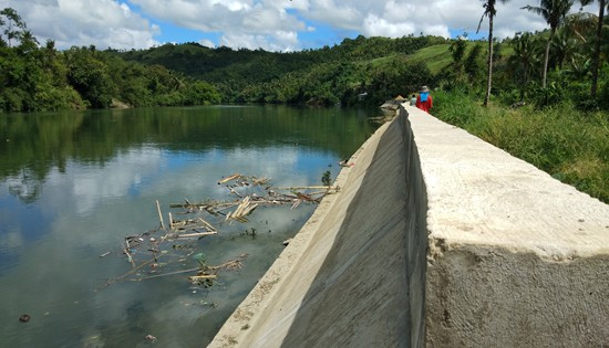 Gandara River flood control
