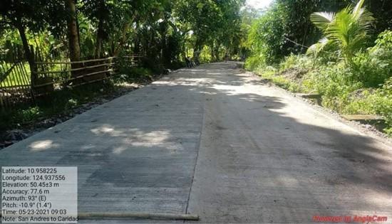 Julita road concreting project