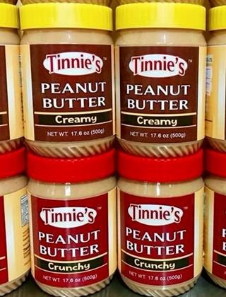 Tinnie's peanut butter