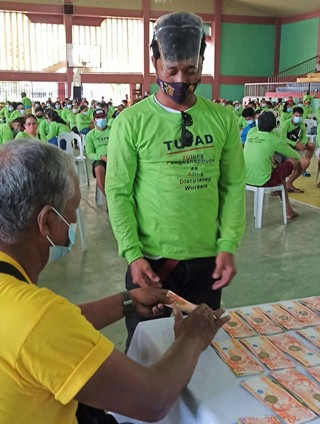TUPAD grants to Sta. Fe, Leyte