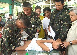army doctors on operation tuli in samar